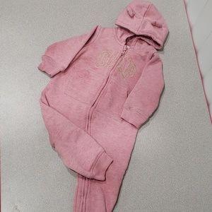 Pink baby Gap Romper